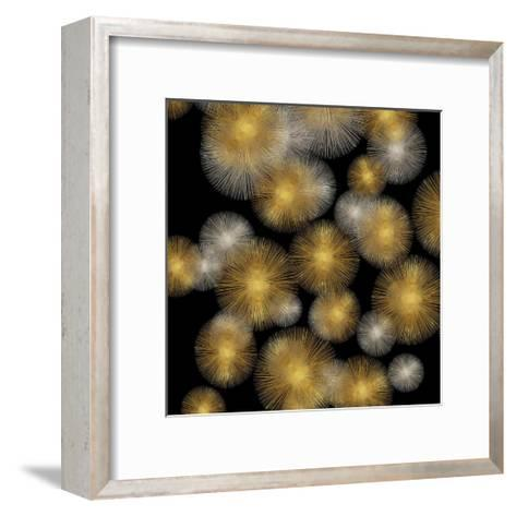 Flourish in Gold and Silver-Abby Young-Framed Art Print