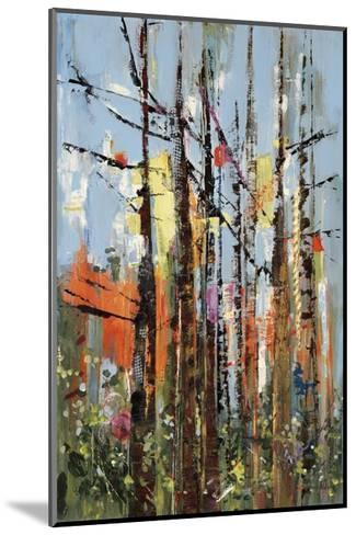 Eclectic Forest-Rebecca Meyers-Mounted Giclee Print
