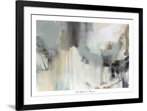 Argentum-Cat Tesla-Framed Art Print