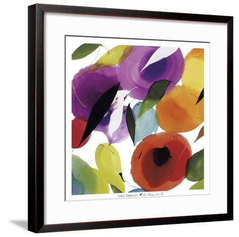 The Melody of Color II-Lola Abellan-Framed Art Print