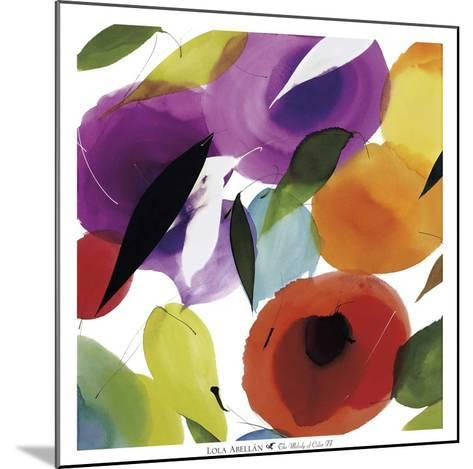 The Melody of Color II-Lola Abellan-Mounted Art Print
