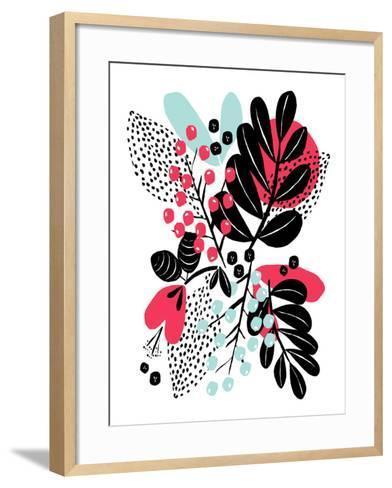 Botanic Burst II-Myriam Tebbakha-Framed Art Print