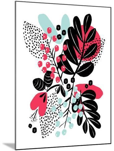 Botanic Burst II-Myriam Tebbakha-Mounted Giclee Print