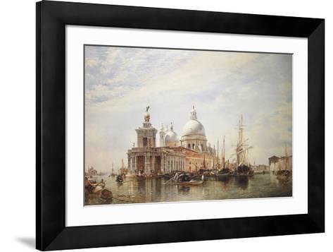 Venice-E.W. Cooke-Framed Art Print