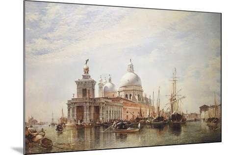 Venice-E.W. Cooke-Mounted Giclee Print