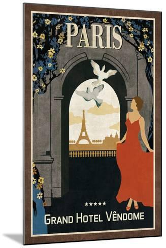 Grand Hotel Paris-Collection Caprice-Mounted Art Print