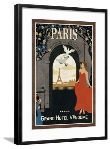 Grand Hotel Paris-Collection Caprice-Framed Art Print