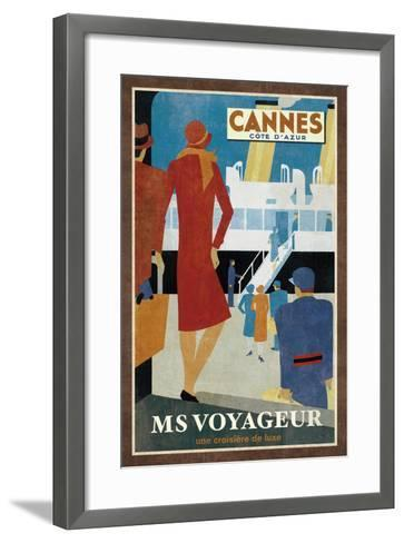 Cruise Cannes-Collection Caprice-Framed Art Print