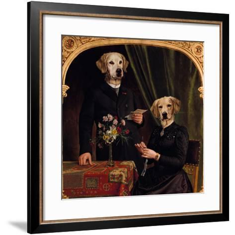 La Haute Societe-Thierry Poncelet-Framed Art Print