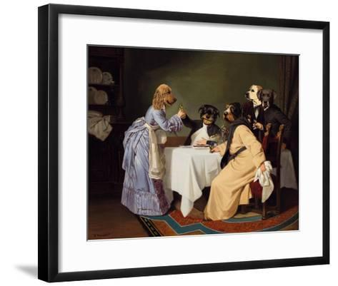 Sante!-Thierry Poncelet-Framed Art Print