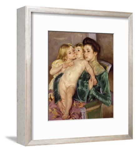 The Caress, 1902-Mary Stevenson Cassatt-Framed Art Print