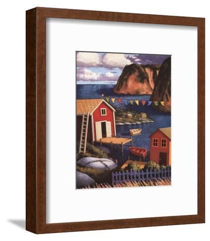 East is East-Paul Hannon-Framed Art Print