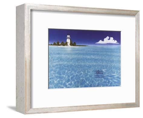 Boca Chita Lighthouse-Dan Mackin-Framed Art Print