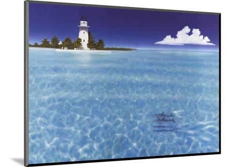 Boca Chita Lighthouse-Dan Mackin-Mounted Art Print