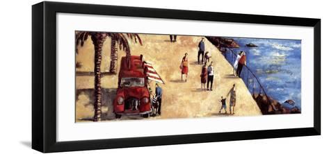 El Camion de los Helados-Didier Lourenco-Framed Art Print