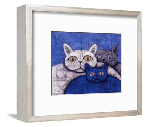 Ice Cats-Kevin Snyder-Framed Art Print