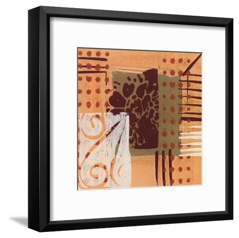 Exotic Memoirs III-Leslie Bernsen-Framed Art Print