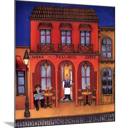 Fellini's-Will Rafuse-Mounted Art Print