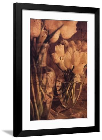 Antique Tulips I-Thea Schrack-Framed Art Print