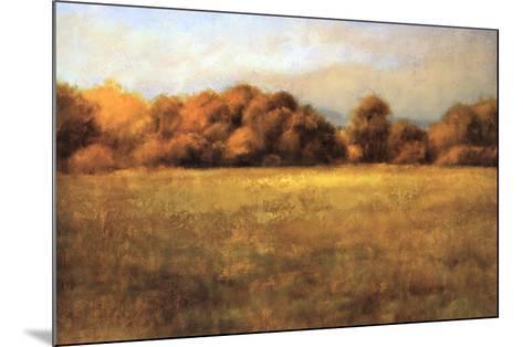 Field with Treeline-Robert Striffolino-Mounted Art Print
