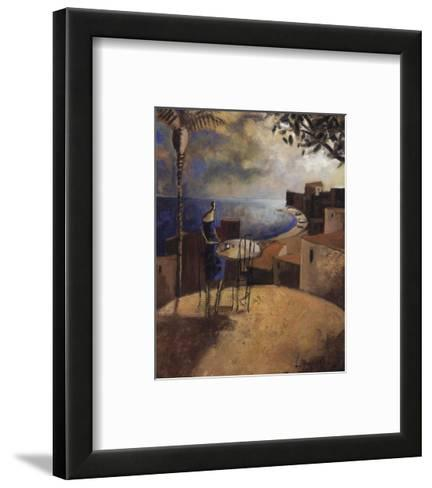 Atardecer Entre los Arboles-Didier Lourenco-Framed Art Print