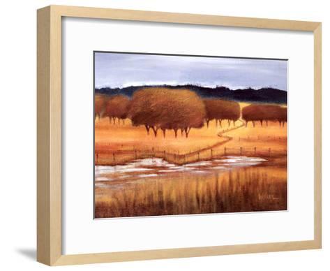 Autumn Reflections-Lynn Welker-Framed Art Print
