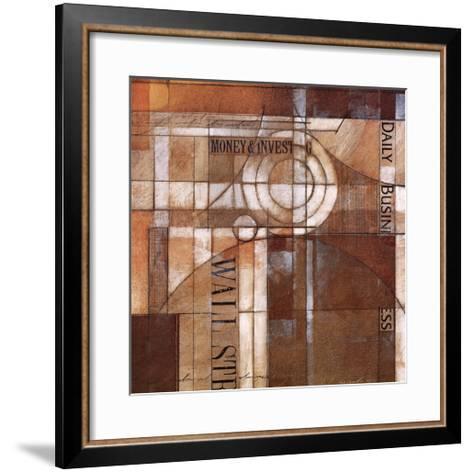 Daily Business-Thomas Mccoy-Framed Art Print