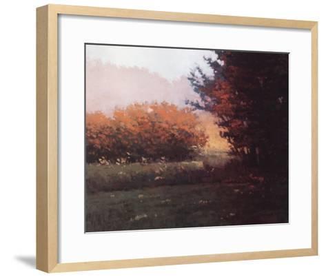 Montlake Hedge-Marcus Bohne-Framed Art Print