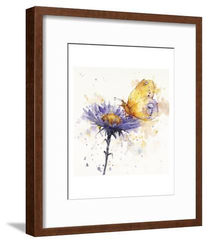 Flowers & Flutters-Sillier than Sally-Framed Art Print