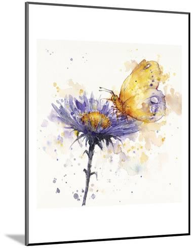 Flowers & Flutters-Sillier than Sally-Mounted Art Print
