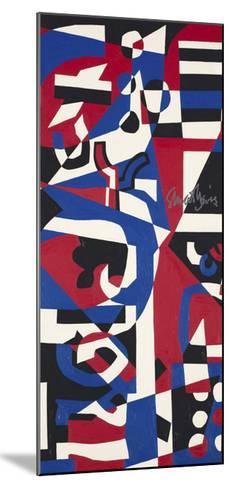 Composition Concrete (Study for Mural), 1957-1960-Stuart Davis-Mounted Art Print