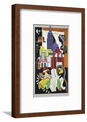 New York Mural, 1932-Stuart Davis-Framed Art Print