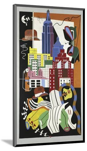 New York Mural, 1932-Stuart Davis-Mounted Art Print