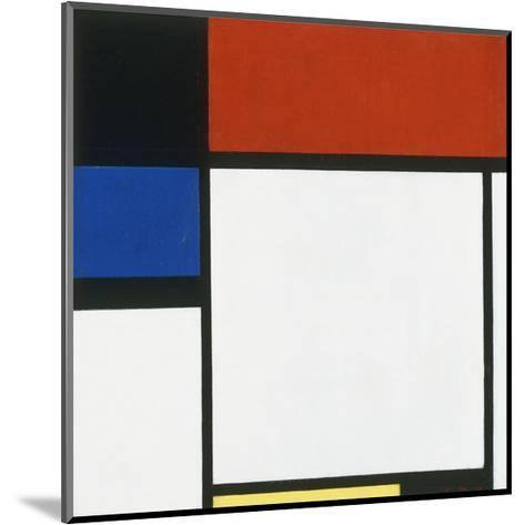 Composition No. III / Fox Trot B with Black, Red, Blue and Yellow, 1929-Piet Mondrian-Mounted Art Print