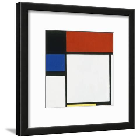 Composition No. III / Fox Trot B with Black, Red, Blue and Yellow, 1929-Piet Mondrian-Framed Art Print