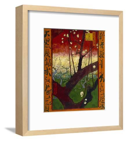 Flowering Plum Tree (after Hiroshige), 1887-Vincent van Gogh-Framed Art Print