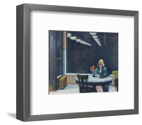Automat, 1927-Edward Hopper-Framed Art Print