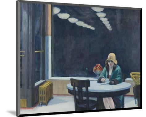 Automat, 1927-Edward Hopper-Mounted Art Print