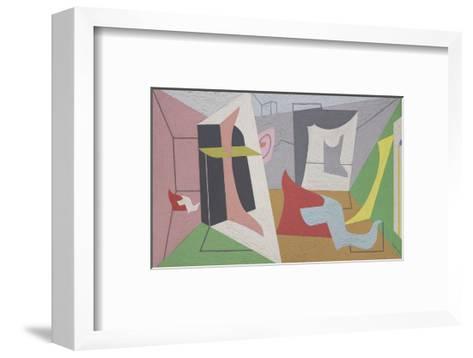 Egg Beater #3, 1927–28-Stuart Davis-Framed Art Print