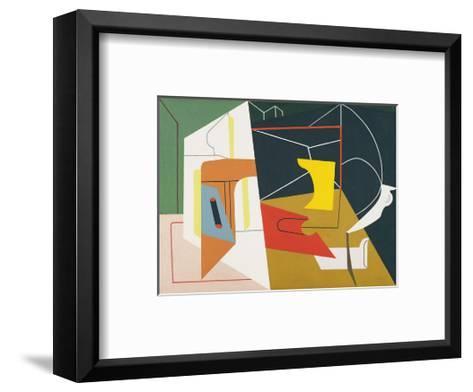 Egg Beater No. 4, 1928-Stuart Davis-Framed Art Print