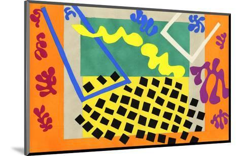 The Codomas, 1947-Henri Matisse-Mounted Art Print