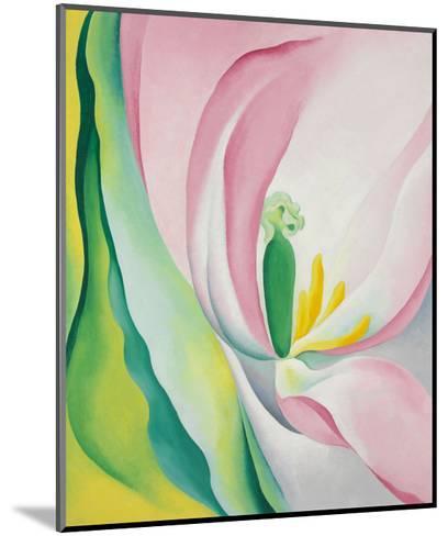 Pink Tulip, 1926-Georgia O'Keeffe-Mounted Art Print