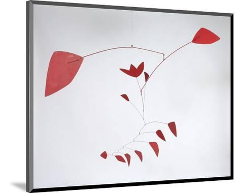 The Tulip, 1967-Alexander Calder-Mounted Art Print