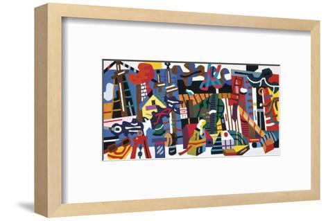 Swing Landscape, 1938-Stuart Davis-Framed Art Print