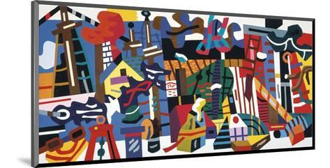 Swing Landscape, 1938-Stuart Davis-Mounted Art Print