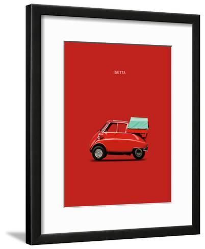 BMW Isetta 300-Mark Rogan-Framed Art Print