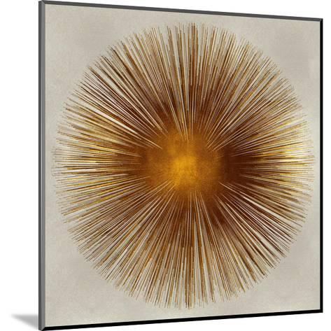 Bronze Sunburst I-Abby Young-Mounted Giclee Print