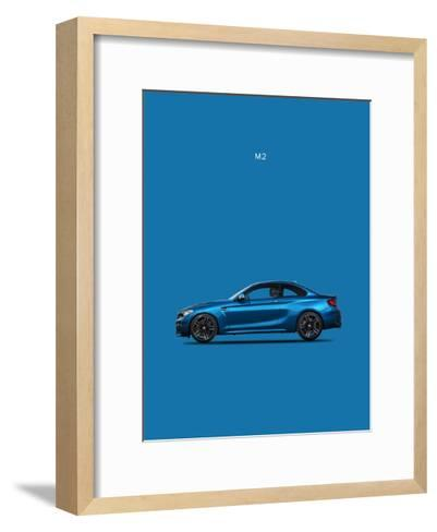 BMW M2-Mark Rogan-Framed Art Print
