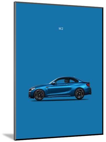 BMW M2-Mark Rogan-Mounted Giclee Print