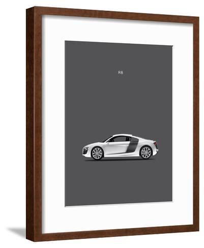 Audi R8-Mark Rogan-Framed Art Print